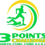 3 Points Challenge and Ocean Swim Logo