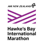 Air New Zealand Hawkes Bay International Marathon Logo