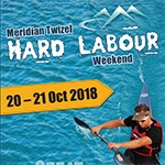 Meridian Twizel Hard Labour Weekend Logo