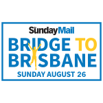 The Sunday Mail Bridge to Brisbane Fun Run Logo