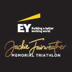 Jackie Fairweather Memorial Triathlon Logo