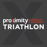 Proximity Corporate and Community Triathlon Logo