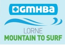 Lorne Mountain to Surf Logo