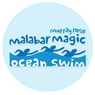 Murray Rose Malabar Magic Ocean Swim Logo