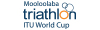 2018 Mooloolaba ITU Triathlon World Cup Logo