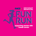 RACQ International Women's Day Fun Run Logo