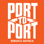 Port to Port MTB Logo