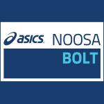 Noosa Asics Bolt Logo