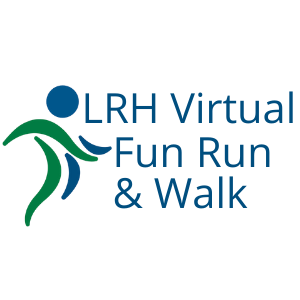LRH Virtual Fun Run & Walk Logo