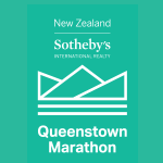 New Zealand Sotheby's International Realty Queenstown Marathon Logo