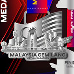 Malaysia Gemilang Virtual Marathon Logo