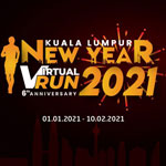 KL New Year Virtual Run Logo