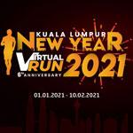 KL New Year Virtual Run Logo