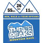 Three Peaks Mountain Race Logo