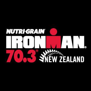 IRONMAN 70.3 New Zealand Logo