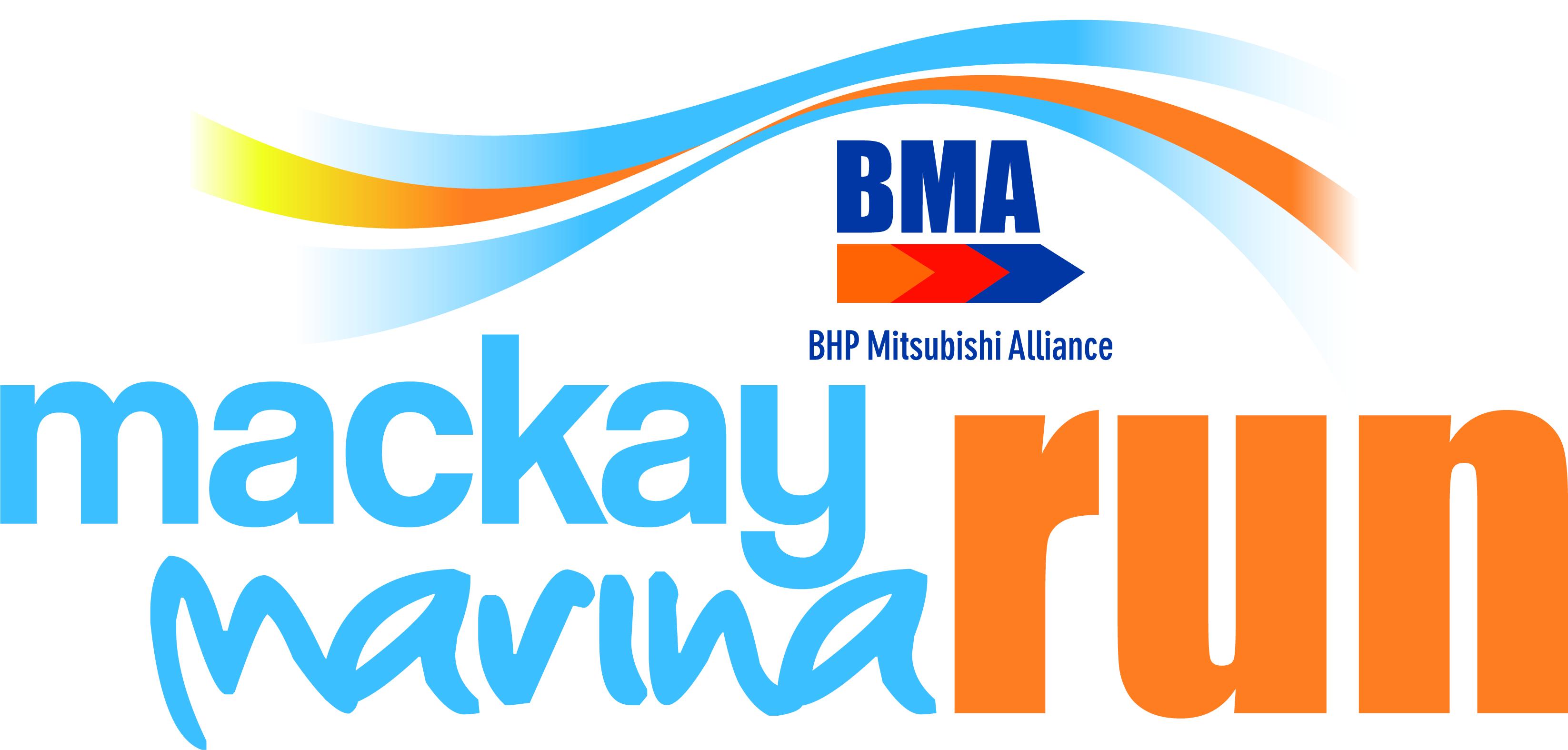 Mackay Marina Fun Run Logo